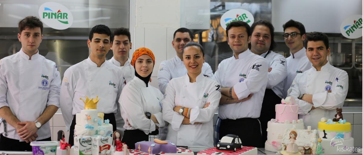 Pınar İle Pasta Süsleme Dersi - Okan Üniversitesi