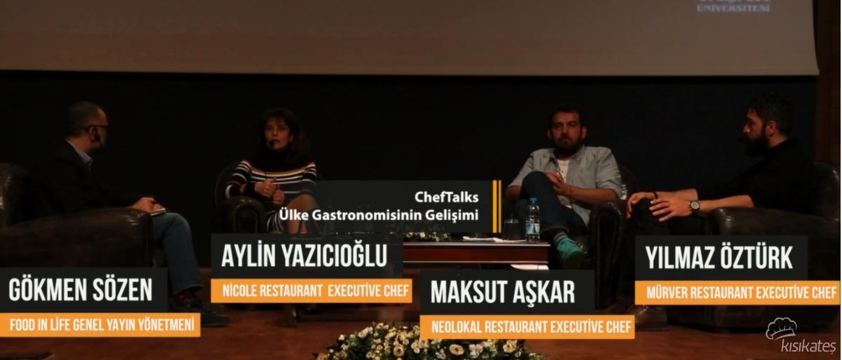 Turizmin Geleceği Platformu ''Şefler Konuşuyor'' Yaşar Üniversitesi