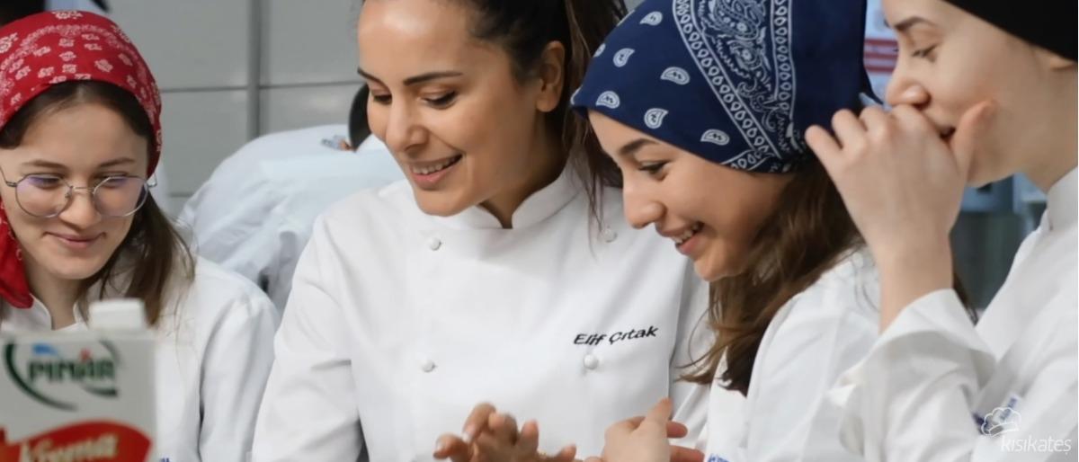 Pınar İle Yanık Cheesecake Atölyesi - Gelişim Üniversitesi