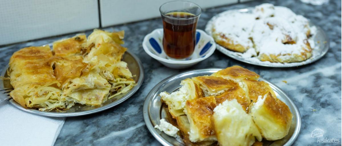 Damak Serpme Börek - İzmir